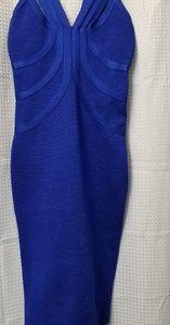 NWT Royal blue bodycon Dress